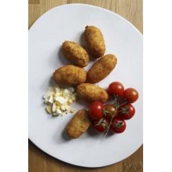 Croquetas de huevo