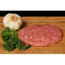Hamburguesa ternera con 10 por ciento de cerdo