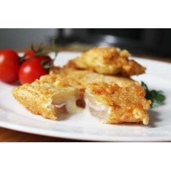 Pencas rellenas de jamon York y queso