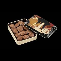 Cajitas de hojas de chocolate con leche Amatller