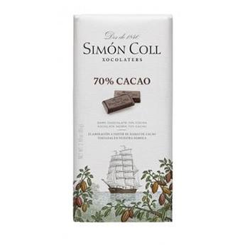 Tableta chocolate 70% cacao Simon Coll