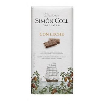 Tableta de chocolate con leche Simon Coll