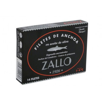 Filetes de Anchoa Zallo
