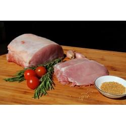 Filetes de lomo de cerdo fresco