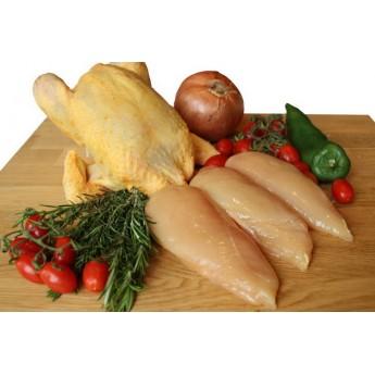 Filetes de pechuga de pollo