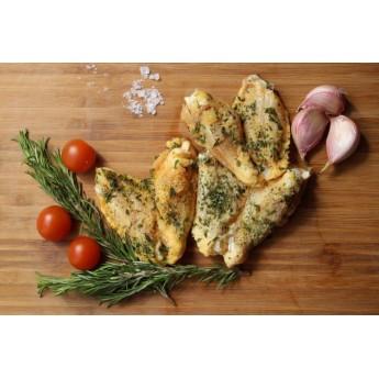 Alitas de pollo al ajilo